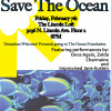 New Flyers for the SAVE THE OCEAN CHARITY SHOW! Yay!