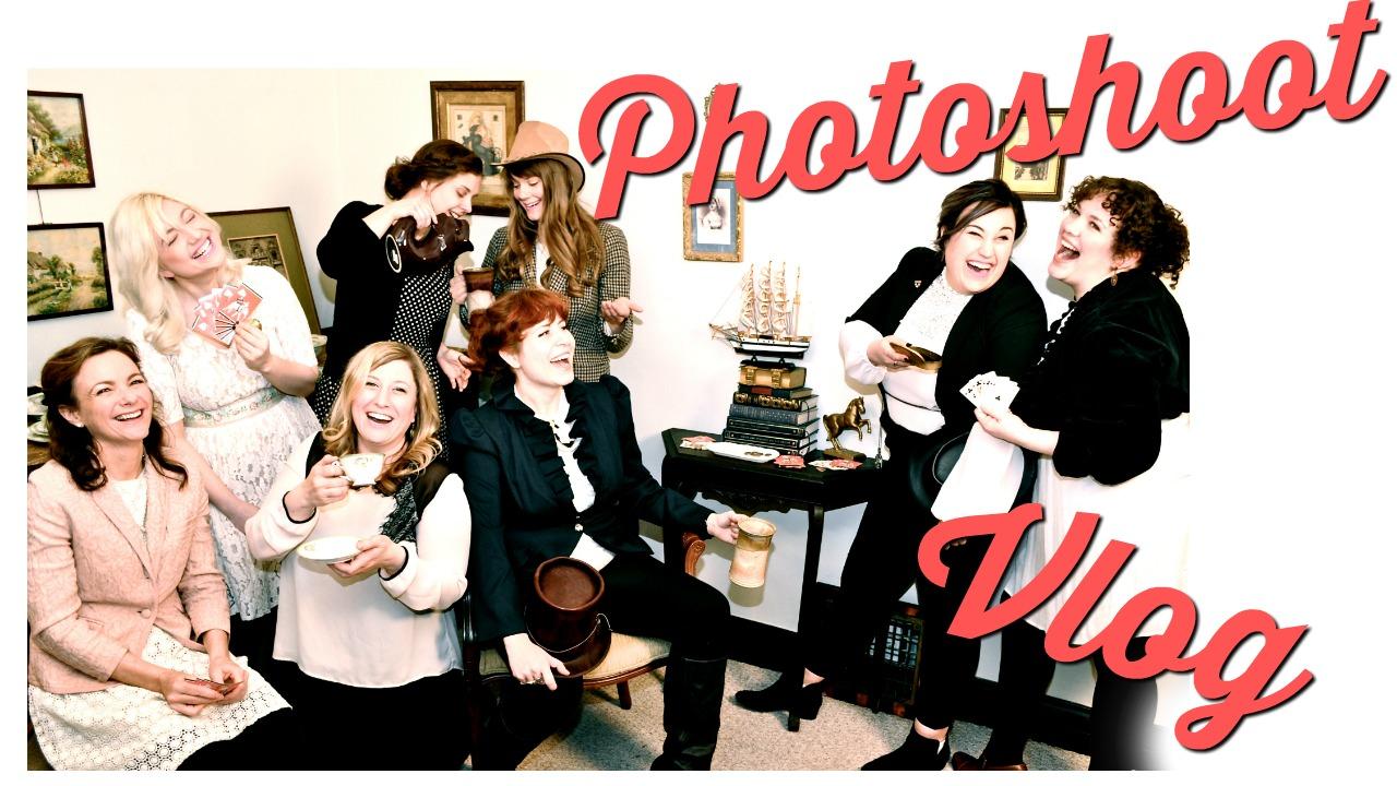 Improvised Jane Austen Photoshoot THUMB