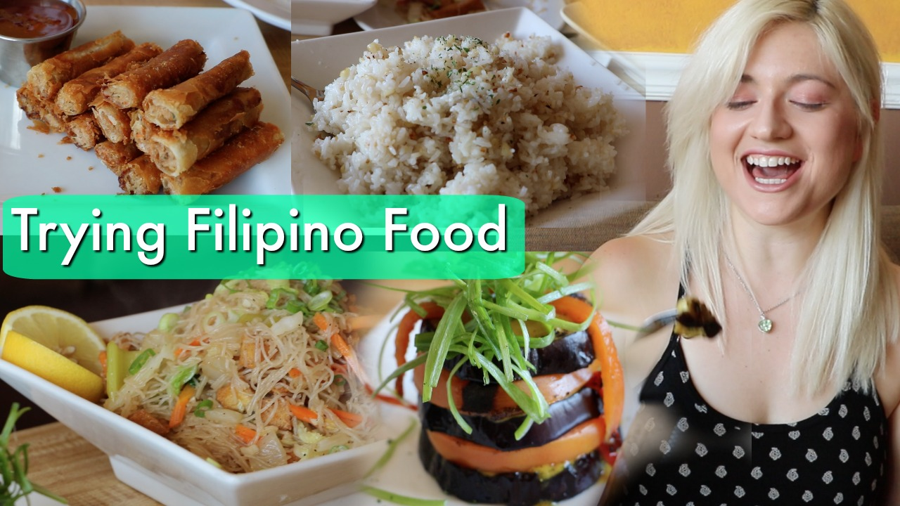 Trying Filipino Food THUMB