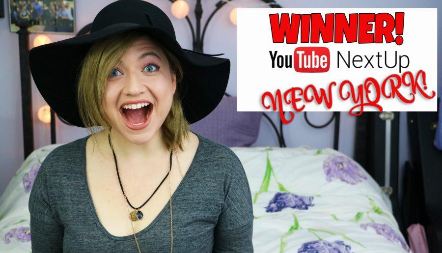 I'm a YouTube NextUp New York WINNER!!!!!