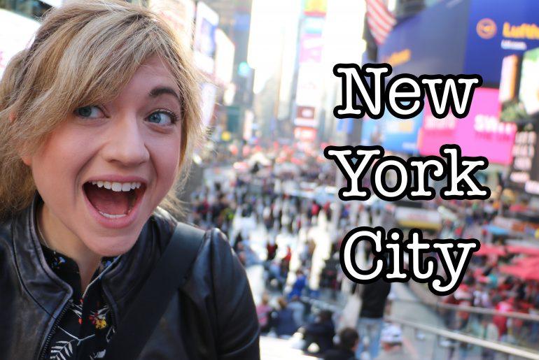 Vickie eisenstein actress comedian youtuber quirky for Traveling to new york in december