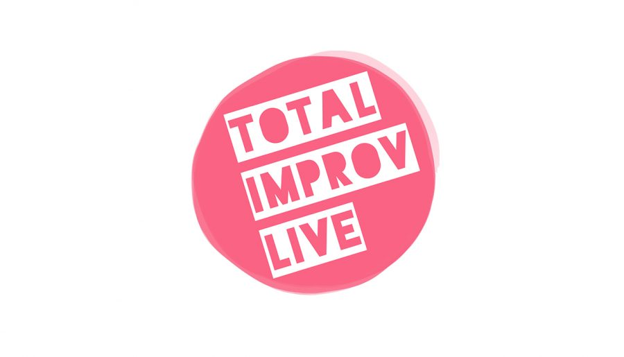 TOTAL IMPROV LIVE! It's a live streamed improv show on my YouTube channel!