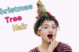 Christmas Tree Hair Thumb YouTube