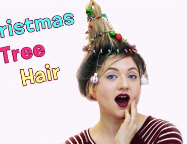 Christmas Tree Hair Thumb YouTube